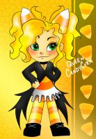 Sugar Rush OC: Queen CandyCorn by MoonShadowDRAE
