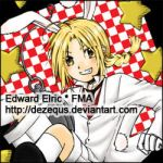 FMA: Edward as White Rabbit by dezequs