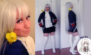 Nyotalia-Prussia Cosplay by Spwinkles