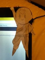 Aang is just haanging by MellenAgen