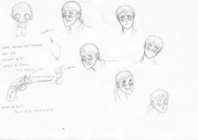 character: Bill Wendell by cesca-specs