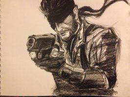 Naked Snake (Big Boss) by SheepTheJuggalo
