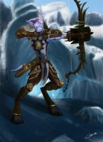 WoW - Hunter draenei by OmegaClarens