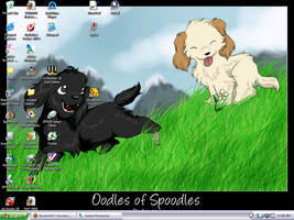 My desktop... by Lkokke