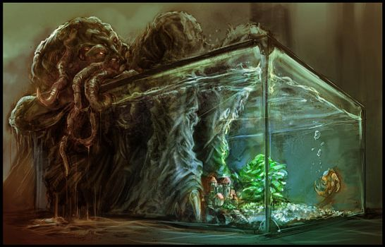 Cthulhu by OmenD4