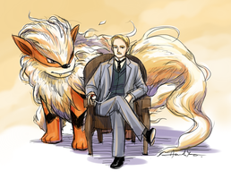 SH+PKMN - Arcanine by nitefise