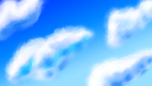 Teh Clouds :D by Zeronoux