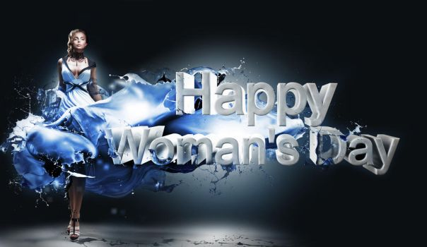Woman's day paint splash by double-graphic