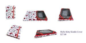 Hello Kitty Kindle Cover 2 by The2SistersShoppe