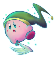 Collaboration: Sword Kirby! by p0Yo