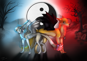 Like a Yin and Yang by Felidre
