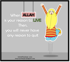 Never Quit by littleMuslimah