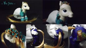 Swan Princess Odette Pony by Cemetery-Nightmare