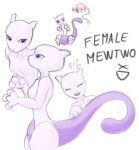 Female Mewtwo XD by EvilKitty3