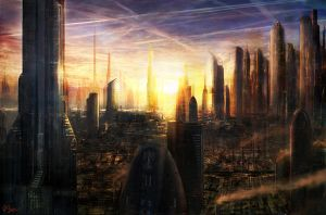 Industrial City by d3fect