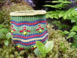 Alaska Columbine Basket by alaskabaskets