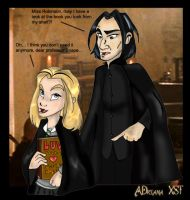 Snape and Sammy - first trade by ADriana-XST