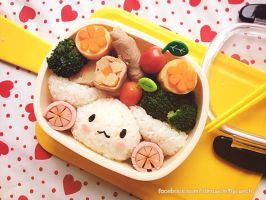 Cinamon Roll Lunch box by loveewa