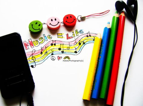 Music means life to me by xAbbeyPhotographyx