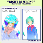 Right Is Wrong Challenge by Loriblackangelsnow
