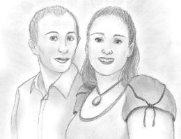 Couple Portrait by anya1916