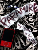 Paramore Photogram by CatelynnMarie