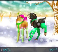 Peppermint winter [Speedpaint] by Mzclueless