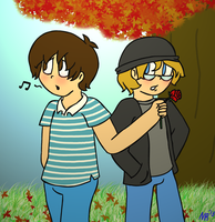 Fall has finally come. - ProtonConroy by NintendoRainbow