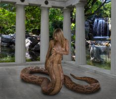 Lamia In Paradise by mythster-seven