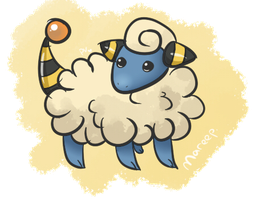 Day 13 - Mareep - Electric by Jhordee
