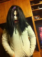 Jeff The Killer cosplay (creepy shot) by deidei5745