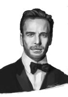 Michael Fassbender by ObsidianTesseract