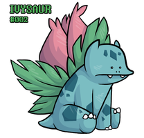 #002 Ivysaur by BROOKSlE