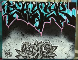 SAYER black roses by ecce-one