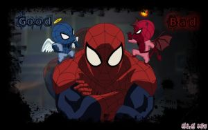 Ultimate Spiderman by PrincessMelissaPeach