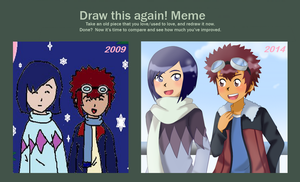 Draw This Again Meme... by nikisawesome