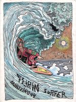 Flipin surfer by TeixoLopez
