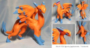 Echo Sculpture Commission by gryphonworks