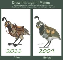 Before and After Meme:  Quail by Ski-Machine