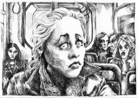 alice in the train by AliceLitwin