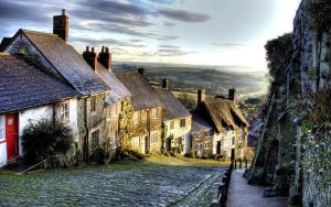 Gold Hill, Shaftsbury, Dorset, by Heikoworld