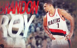 Brandon Roy Wallpaper by drgraphic