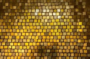 Gold Mosaic Stock by deepgrounduk
