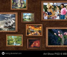 Art Show PSD by MericG