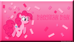 Pinkie Pie Wallpaper by Silentmatten