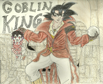 Commission: Bardock the Goblin King by Doggy-Yasha