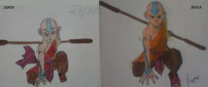 My drawing evolution from 2008 to 2012 by RebeccaSirota