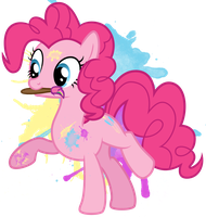 Pinkie Pie Photoshop Icon by LostInTheTrees