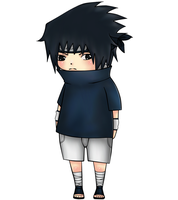 Sasuke Chibi Color version by Veriito-chan