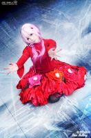 Cosplay - Guilty crown Inori X by Korixxkairi